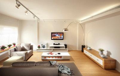 Iluminación: 8 trucos que ampliarán visualmente tu salón