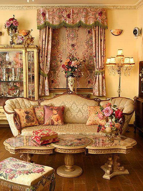 Victorian decorating ideas houzz - Victorian living room decorating ideas ...