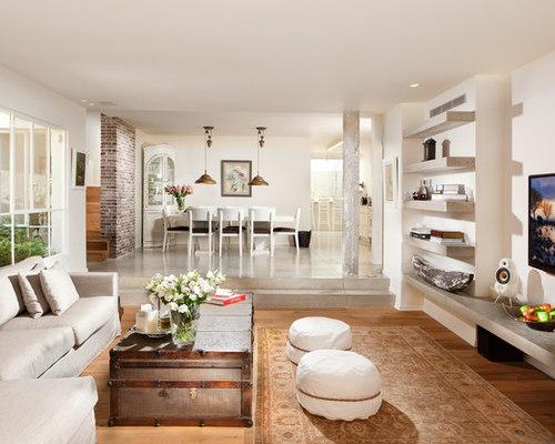 Living Room Shelves   Houzz