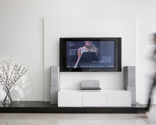 Fabulous Tv Feature Wall Design Ideas Remodel Pictures Houzz Free Home Designs Photos Pokmenpayus