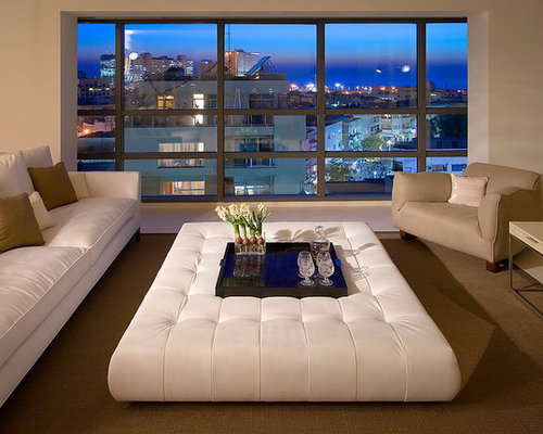 large ottoman photos - Living Rooms With Ottomans