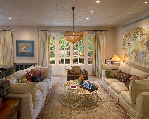 Best Country French Chateau Living Room Design Ideas & Remodel ...