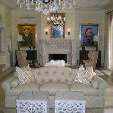 Contemporary Living Room by Elias Benabib, Corp.