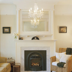 traditional living room by Emerick Architects