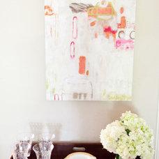 Eclectic Living Room by Emily Johnston Larkin