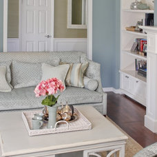 Traditional Living Room by Erik Waldorf Interior Design