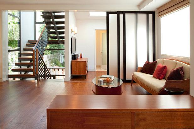 Contemporain Salon by ODS Architecture