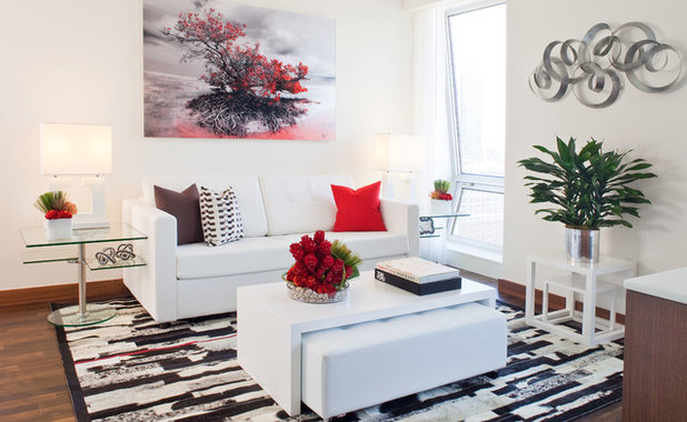 Contemporary Living Room by FAVA DESIGN GROUP