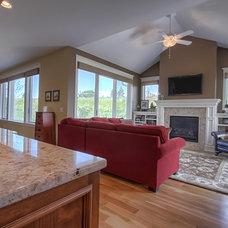 Contemporary Living Room by Modern Design LLC