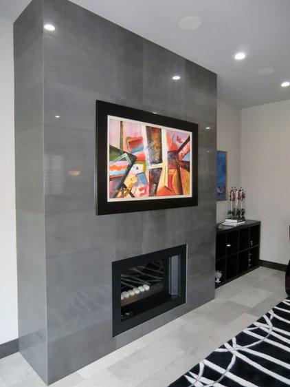 Contemporary Living Room by Centennial 360