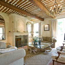 Mediterranean Living Room by Ancient Surfaces