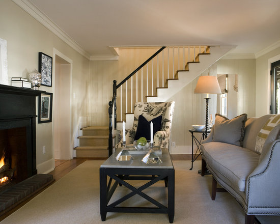 Perfect Living Room Stairs