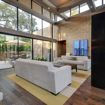 Living Room + Front Patio