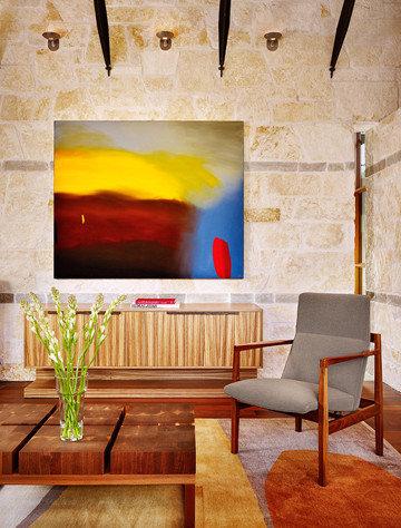 Terrace house for Living room 528 powell street