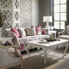 Beach Style Living Room by Benjamin Rugs and Furniture