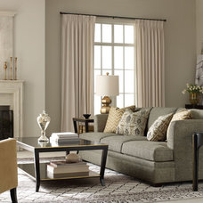 Contemporary Living Room by Benjamin Rugs and Furniture