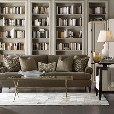 Transitional Living Room by Benjamin Rugs and Furniture
