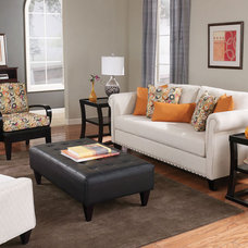 Contemporary Living Room by Brook Furniture Rental