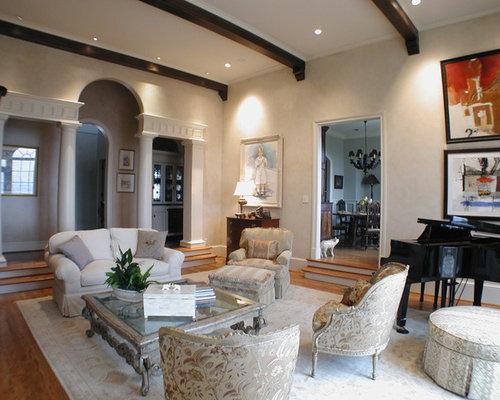 Best Eclectic Sunken Living Room Design Ideas Remodel Pictures