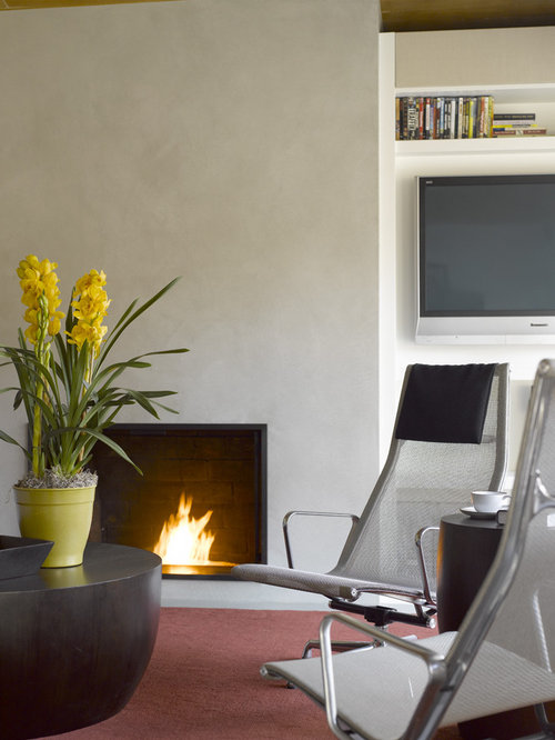 Plaster Fireplace Home Design Ideas Pictures Remodel And