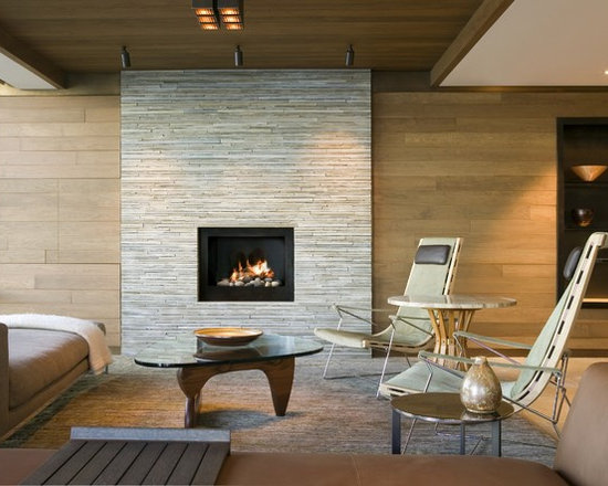 Dry Stacked Stone Fireplace Ideas Houzz