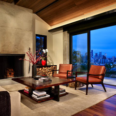 contemporary living room by Garret Cord Werner