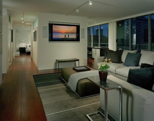 Contemporary Living Room by Garret Cord Werner Architects & Interior Designers
