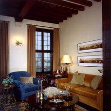 Traditional Living Room by Giambastiani Design