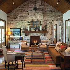 Eclectic Living Room by Gibson Gimpel Interior Design