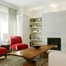 Contemporary Living Room by Paul Raff Studio