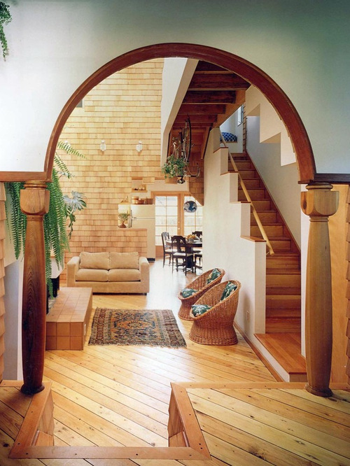Home hall arch design the expert for Arch design for living room