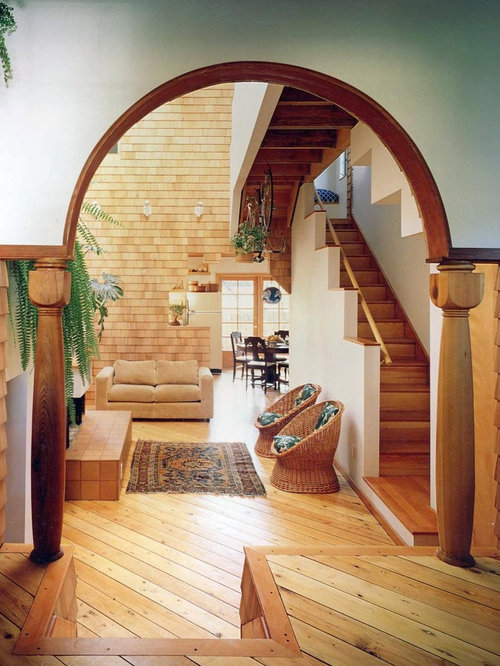 arch living room houzz
