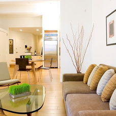 Modern Living Room by gne architecture