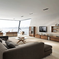 Contemporary Living Room by Greyhorne Interiors