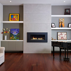 Contemporary Living Room by Habitat Studio