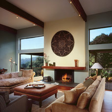 Contemporary Living Room by Harrell Remodeling
