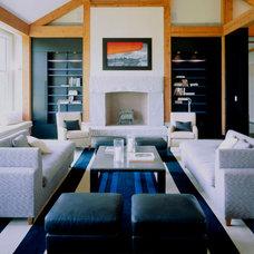 Modern Living Room by Hart Associates Architects, Inc.