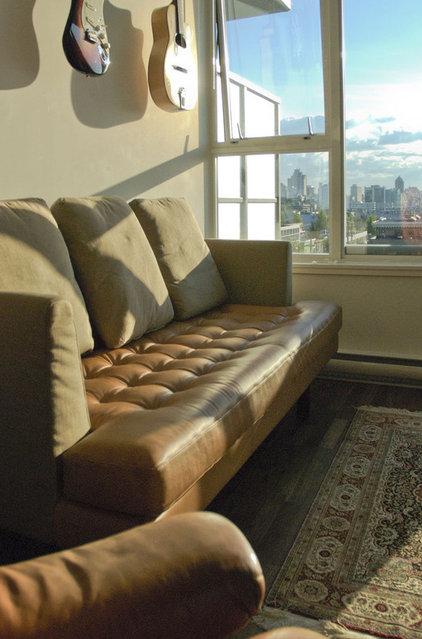Modern Living Room by Heather Merenda