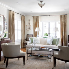 Traditional Living Room by Heather Scott Home & Design