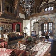 Living Room by Hendel Homes