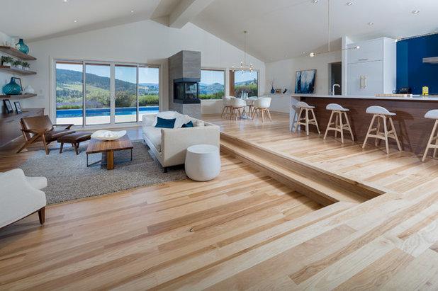 Contemporary Living Room by Bona US