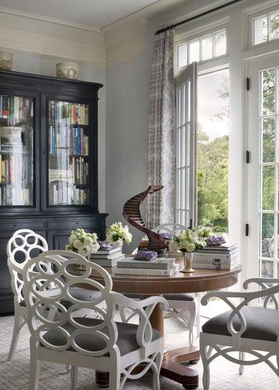 Traditional Living Room by Ike Kligerman Barkley