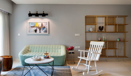 Bangalore Houzz: Cheerful Home for a Young Family