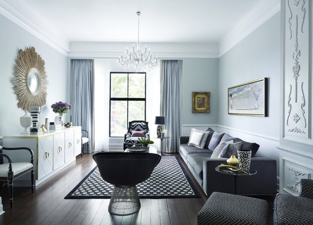 Contemporary Living Room by Greg Natale