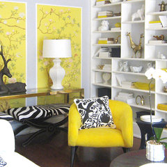 eclectic living room by maison21