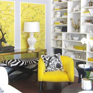 Eklektisches Wohnzimmer in Los Angeles