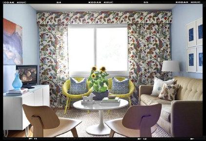 Modern Living Room by Claire Watkins Interior Design, LLC
