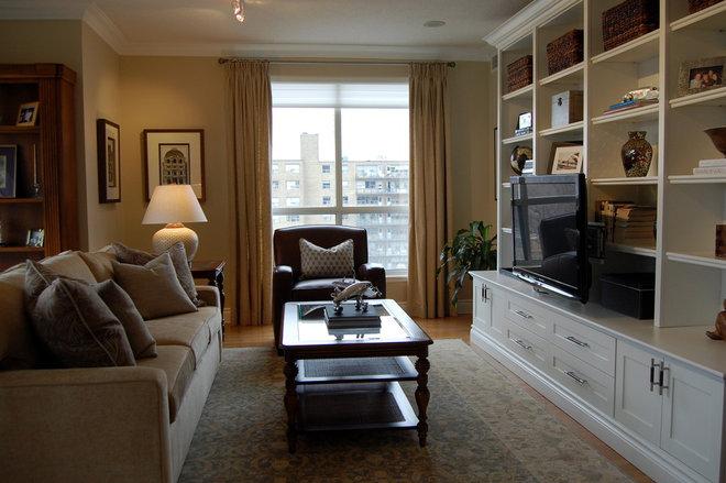 Eclectic Living Room by Jennifer Simon Design