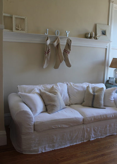 Shabby-chic Style Living Room living room