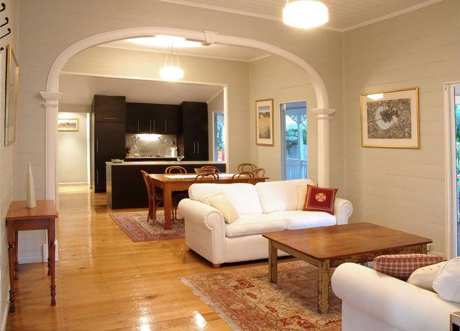 Tropical Living Room Living  Room
